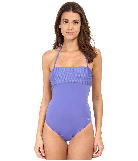 knit bathing suits emporio armani modern wave knit one bathing suit in
