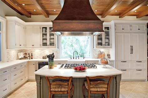 kitchen island vent hoods 4 types of kitchen range hoods to transform your kitchen