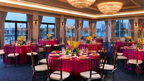 venues san diego san diego wedding venues sheraton san diego hotel marina