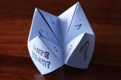 teller origami pin origami fortune teller blank template image search