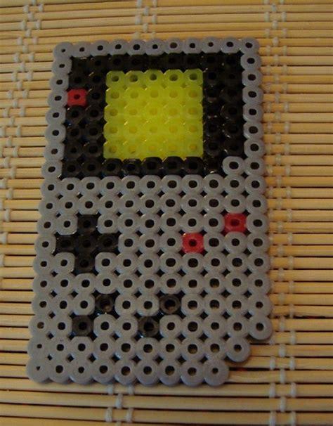 perler gameboy perler bead gameboy by kitunae on deviantart