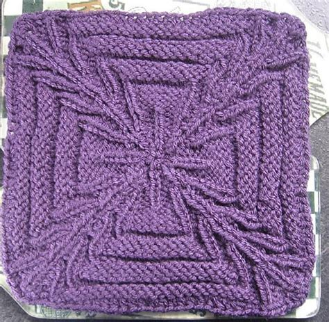 knit a square crossed purposes 9 quot knit afghan block square knitting