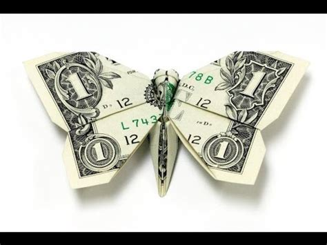 origami with dollar bills easy how to make a dollar bill origami butterfly