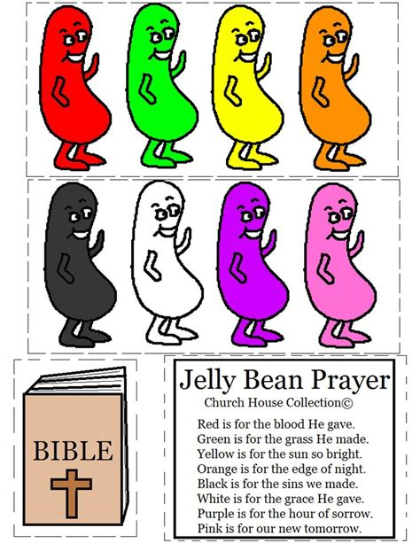 free prayer crafts for 31 best jelly bean prayer images on easter