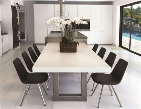 kitchen dinning table best 25 concrete dining table ideas on