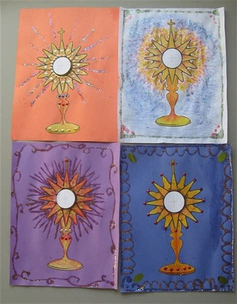 catholic craft projects 25 best ideas about eucharist on