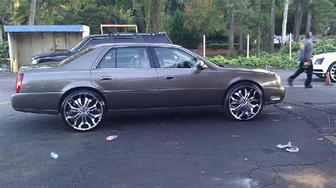 Cadillac On Rims by Black Cadillac On Rims
