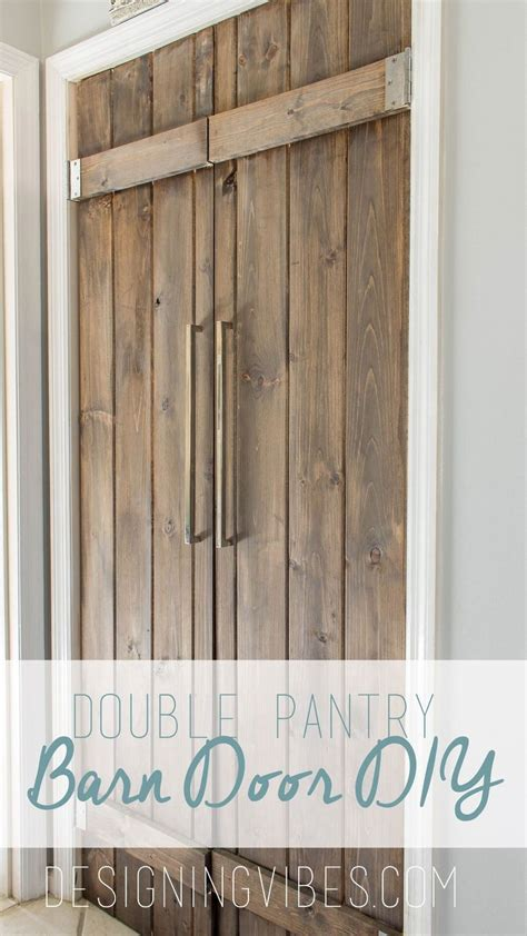 kitchen closet doors hometalk pantry barn door diy 90