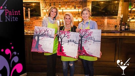 paint nite nyc schedule paint nite new york discount tickets deal rush49