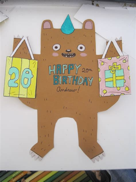 how to make a card for your crush diy birthday card