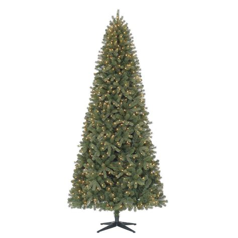 9 ft slim tree home depot 9 ft wimberly spruce set slim artificial