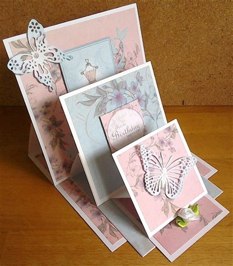 how to make an easel card 17 best ideas about easel cards on folded