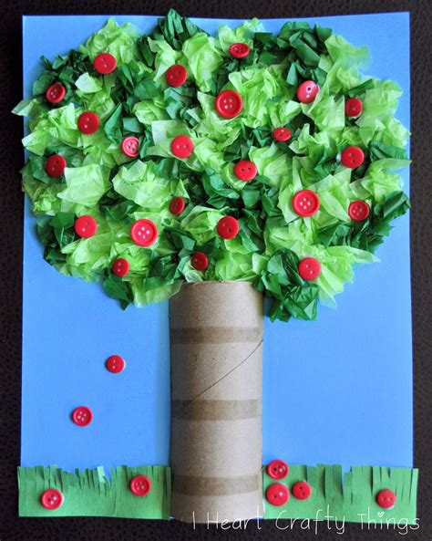 trees craft apple tree craft i crafty things