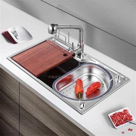 brushed stainless steel kitchen sinks kitchen sinks nickel brushed stainless steel single bowl