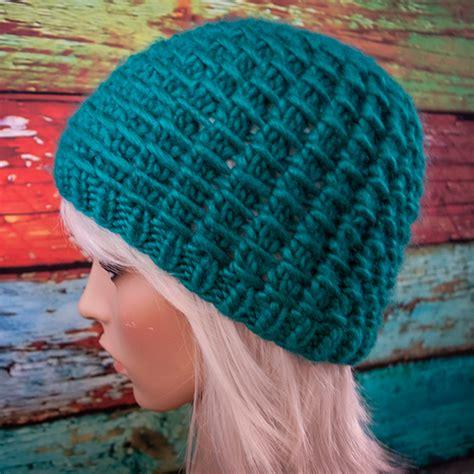 best yarn for knitting hats free knitting pattern winter waffle hat jenn likes yarn