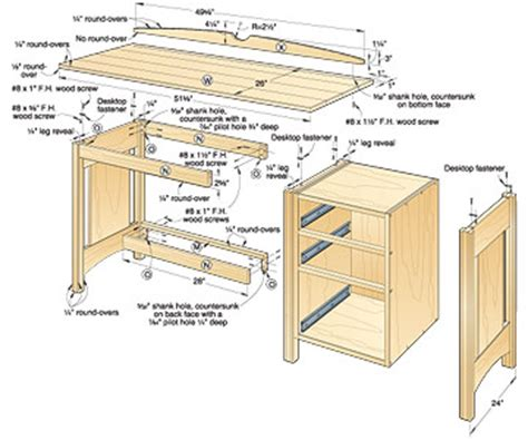 desk plans woodworking free desk plans woodworking woodworker magazine