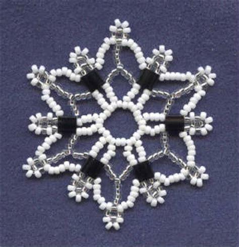 beaded snowflake patterns bead snowflake patterns browse patterns