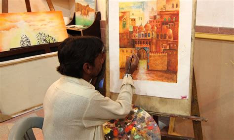 Modern Paints karachi central jail learning art behind bars pakistan