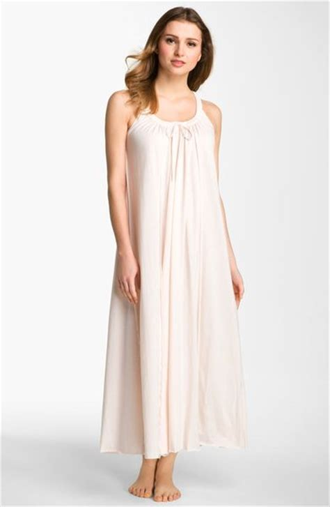 cotton knit nightgowns donna karan new york pima cotton knit nightgown in pink