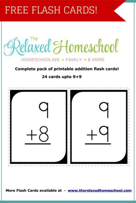 how to make math flash cards free 24 math addition flash cards free homeschool deals