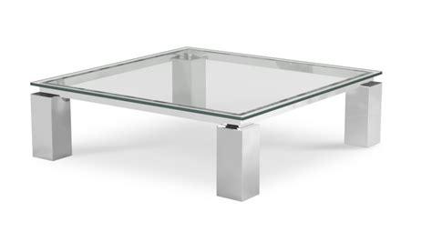 table basse de salon en verre transparent arklow mobilier moss