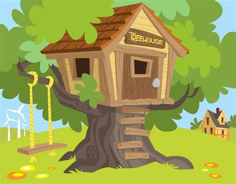 treehouse kid and craft artwork copyright 169 great river energy all rights