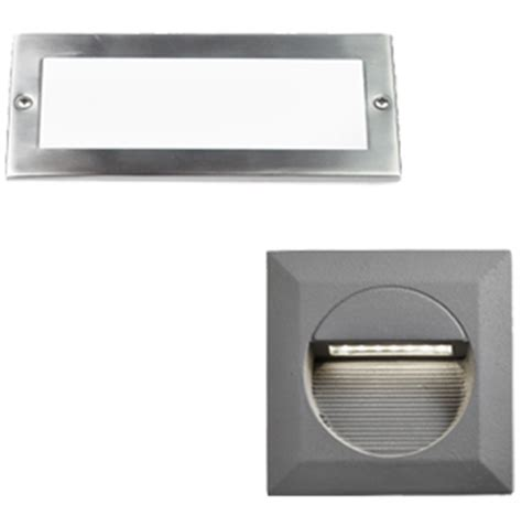 recessed garden wall lights outdoor lights from easy lighting