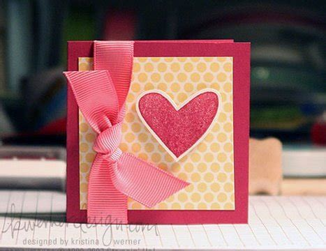 how to make the best day card easy valentines card make a card monday 7