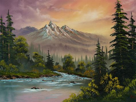 bob ross painting uk laurence mathews discount artists materials and