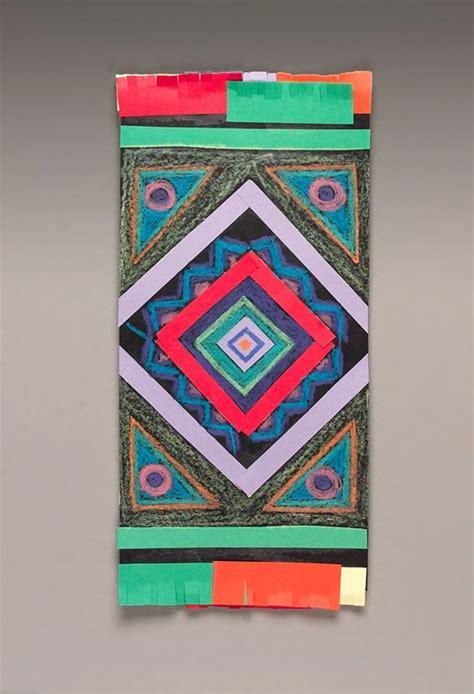 hispanic crafts for mexican serape or rebozo craft crayola