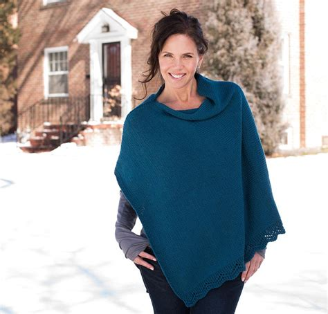 how to knit a poncho for beginners pattern modern stylish poncho knitting patterns kits