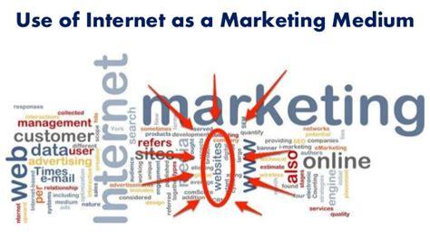 use of use of as a marketing medium
