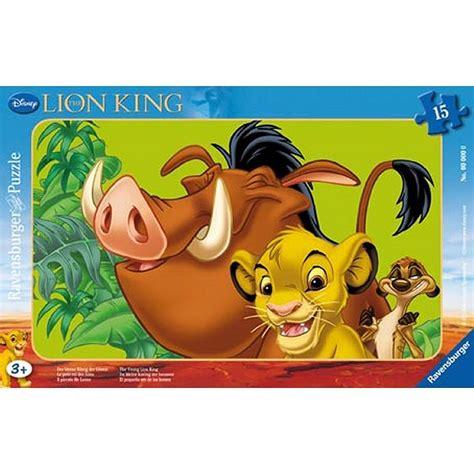 puzzle cadre le roi simba le lionceau ravensburger 06008 15 pi 232 ces puzzles autres