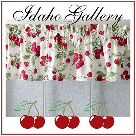 cherry kitchen curtains pin by janay smith on cherry