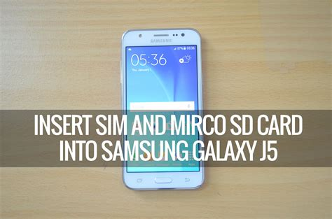 how to make a sim card into a micro sim how to insert sim card and sd card into samsung galaxy j5