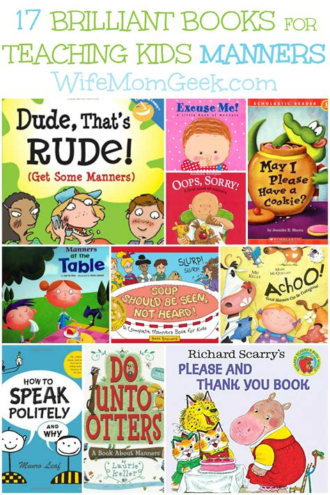 picture books to teach idea 17 brilliant books for teaching manners