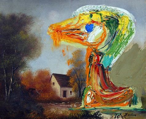 den painting le canard inqui 233 tant 1959 asger jorn wikiart org