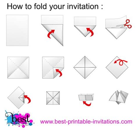 how to make a fortune teller origami step by step origami invitations