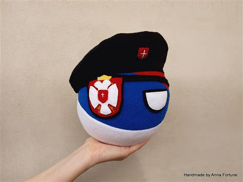 serbiaball with beret handmade by anna fortune
