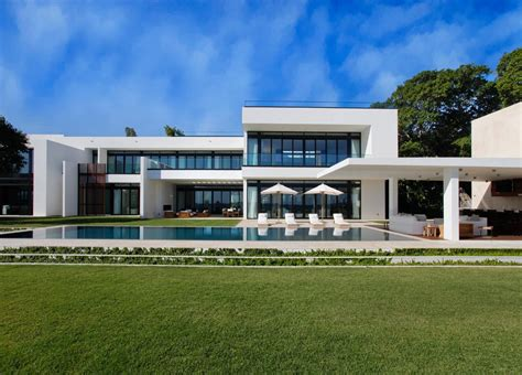 modern house with pool flat design exterior modern with flat roof