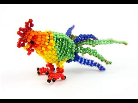 make bead animals how to make beaded animals beading 3d