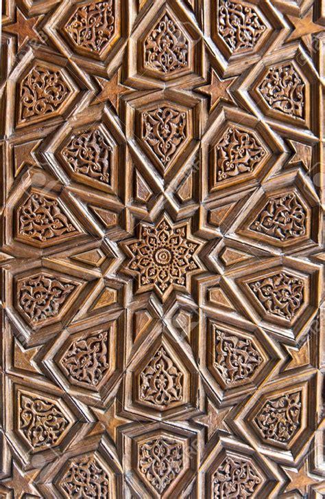 islamic woodwork گره چینی چوبی wood