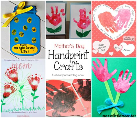 mothers day cards toddlers can make handmade s day cards galore handprint