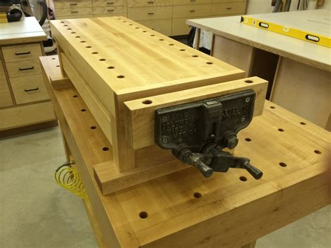 woodworking bench top detail workbench for my workbench by jeff tobert