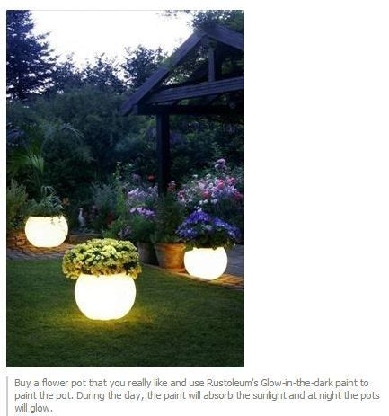 glow in the paint outdoor glow in the paint for outdoor pots crafty ideas