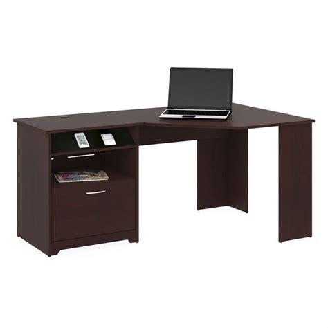 corner cherry desk bush cabot corner harvest cherry computer desk ebay