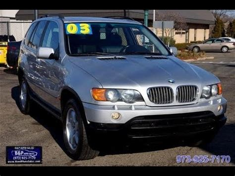 2003 Bmw Suv by 2003 Bmw X5 4 4 V8 Suv