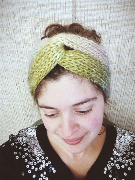 how to end a knitted headband brioche turban a free pattern alaska knit nat