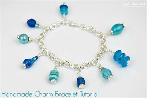 how to make jewelry bracelets charm bracelet tutorial a simple and project