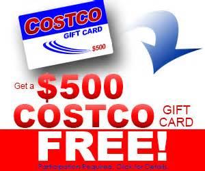 how to make costco card free 1000 costco gift card free stuff give away
